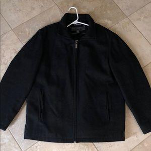 Perry Ellis portfolio wool coat